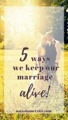 marriage alive