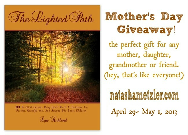 The Lighted Path {giveaway!}