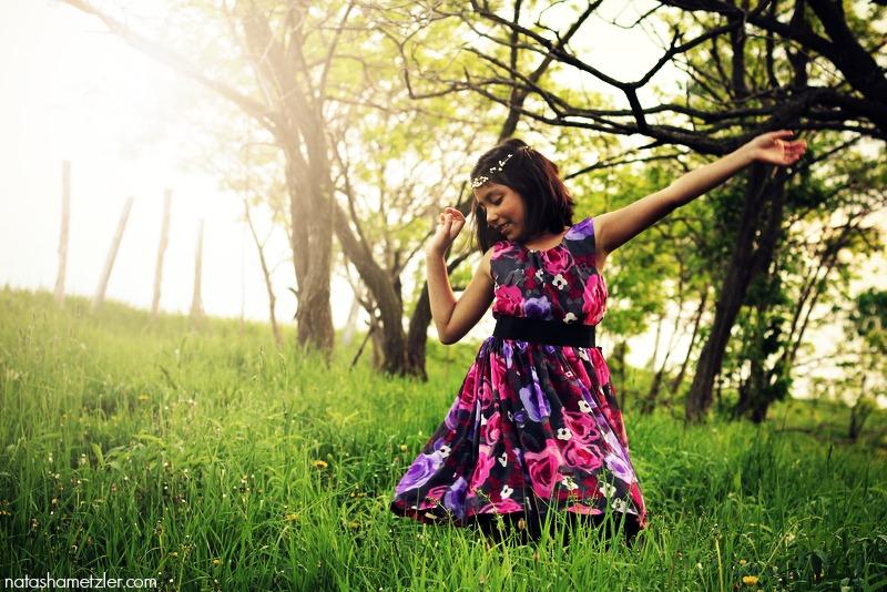 fairy-tale twirling