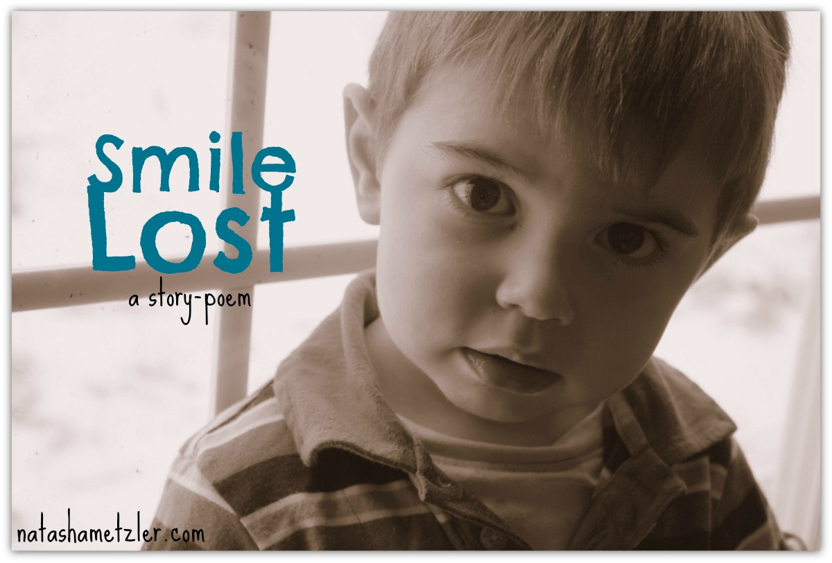 Smile Lost: a story-poem