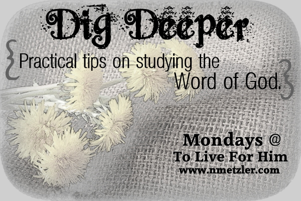 dig deeper {1} knowing