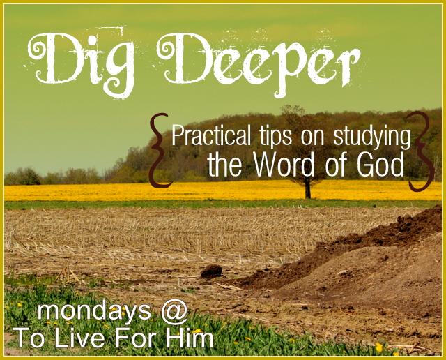 Dig Deeper {2} context