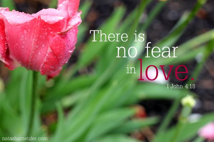No Fear in Love.