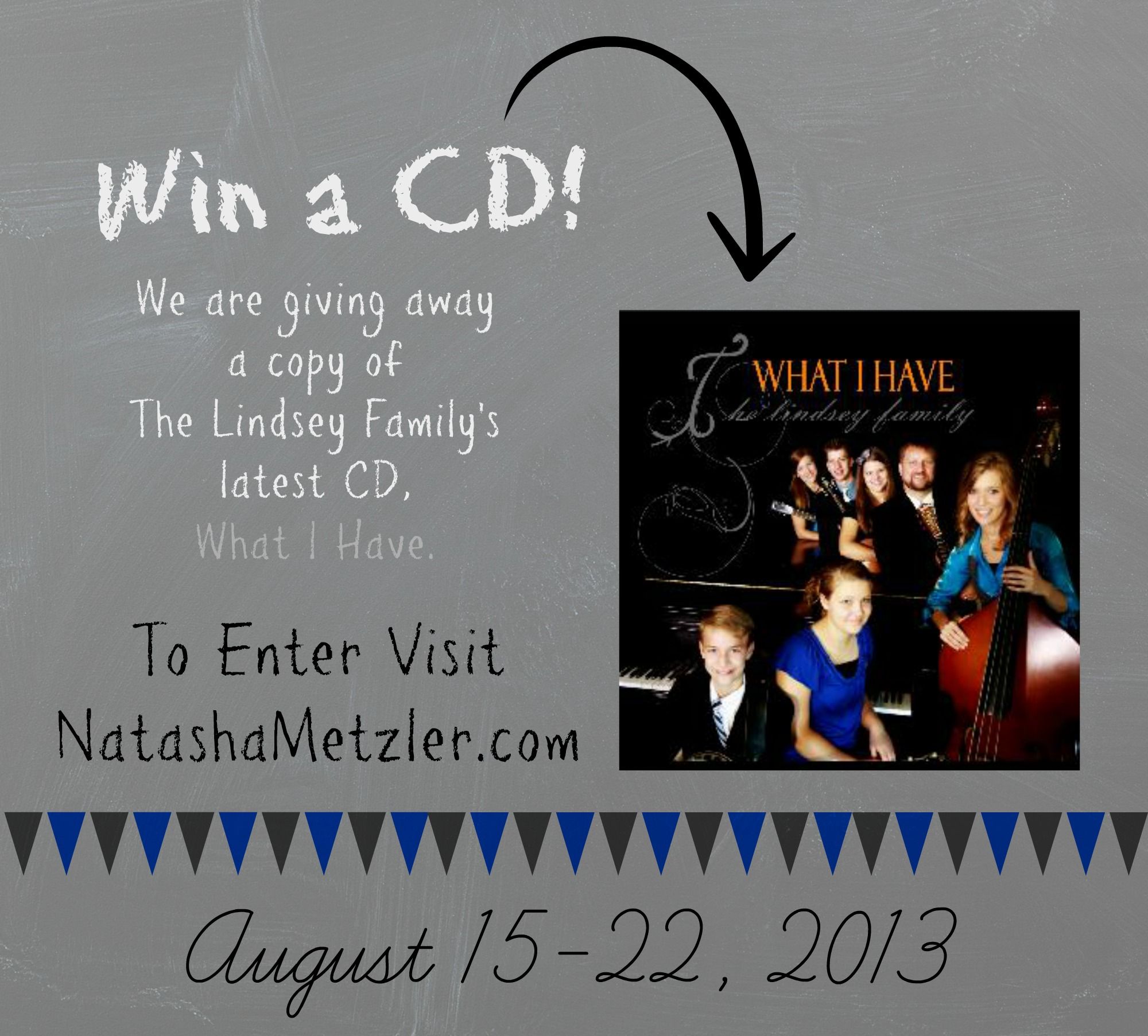 Want to win a CD? // it's a giveaway!
