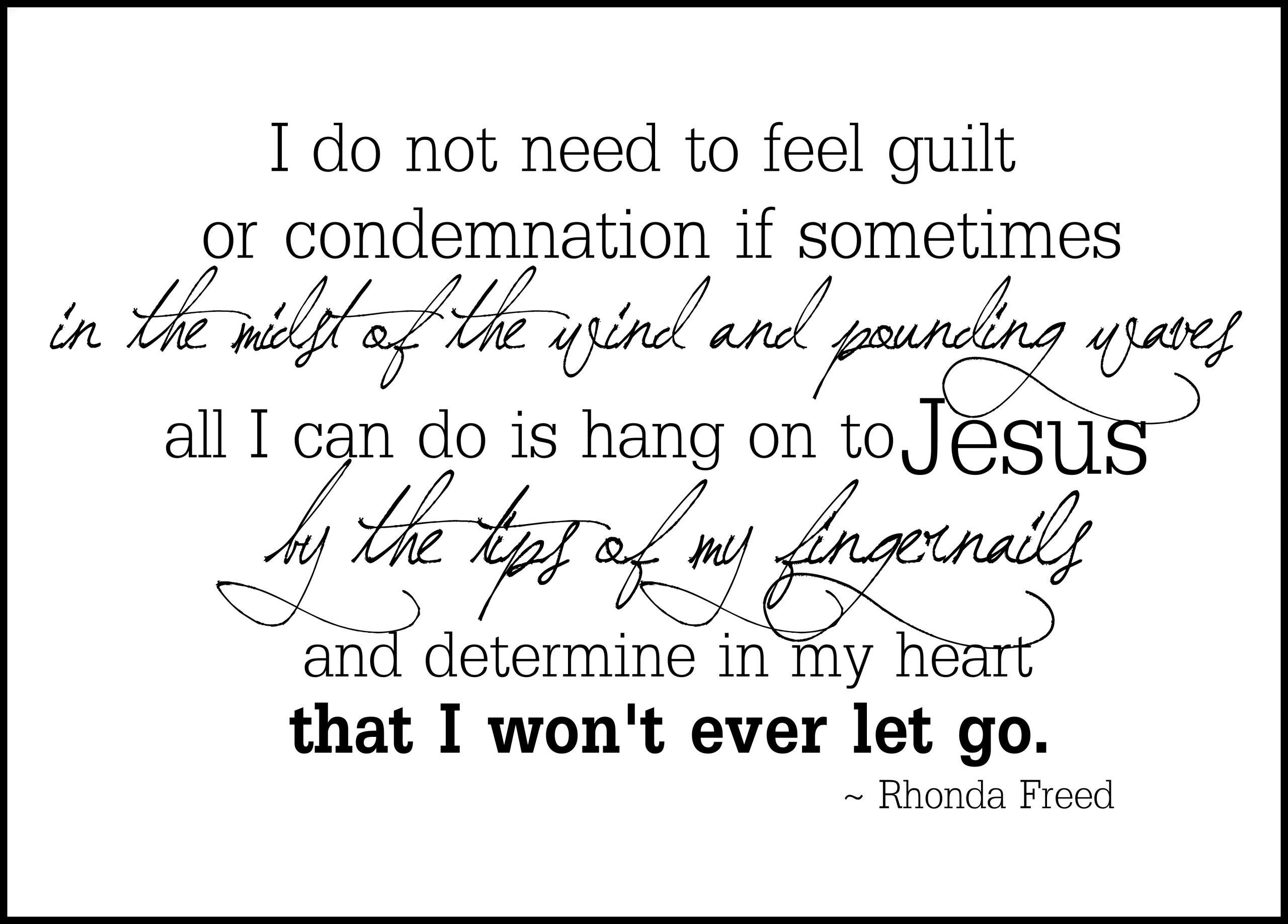 desperation meets God