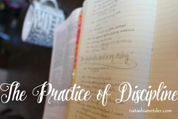 Practice of Discipline