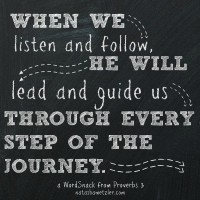 A WordSnack from Proverbs 3